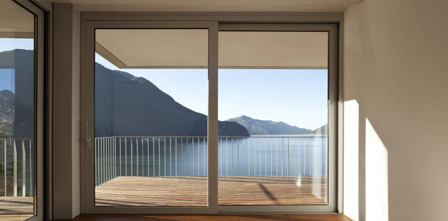 Aluminium window with thermal break - Seicento