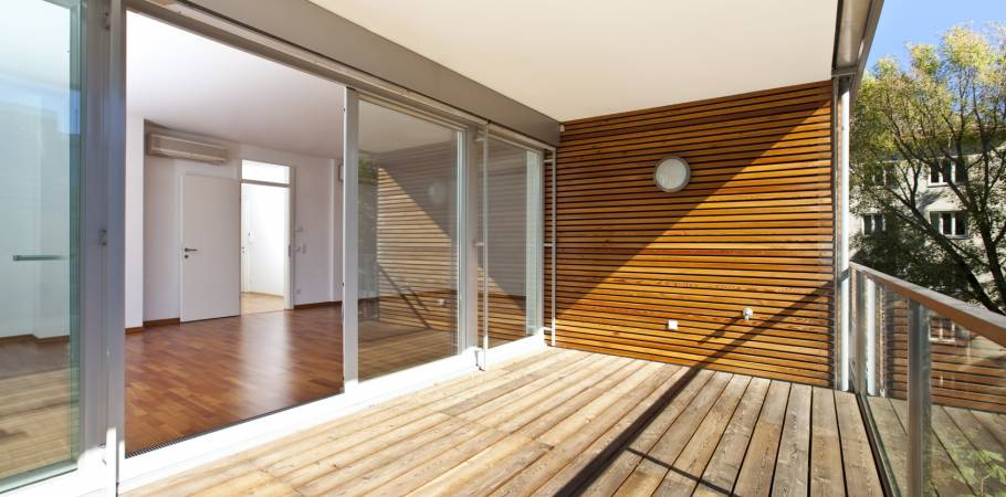 Wood aluminium window - Omega